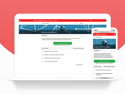 e-Learning Concept Interface