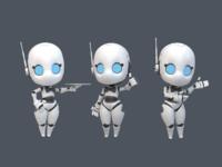 Robot gesture