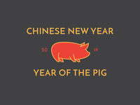 CNY Year of the Pig 2019