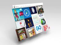 9 Lives 3D Webpage