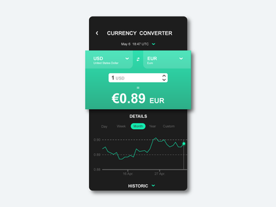 Currency converter UI