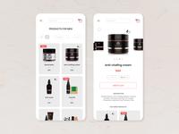 E-commerce Shop UI Design App