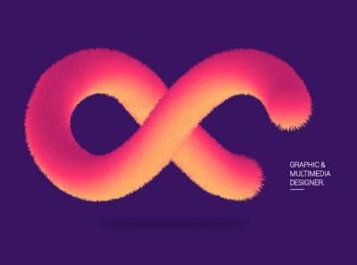 Flur Infinity desert colors purple visual design graphic design infinity flur adobe illustrator