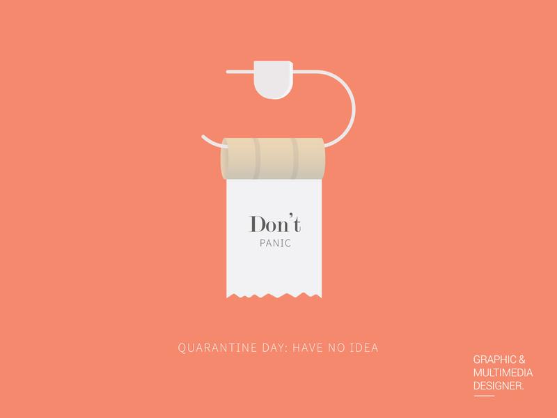 Quarantine Day: Have no idea design graphic design visual design adobe quarantine illustration adobe illustrator