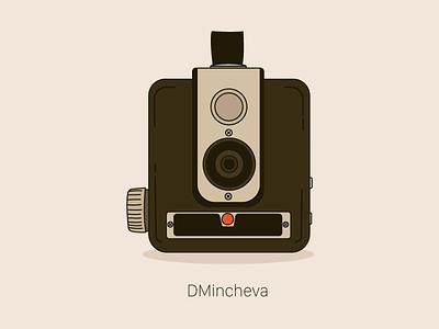 Vintage Kodak Camera Illustration design illustration kodak camera vintage camera vintage