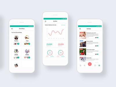 Blogging App Dashboard