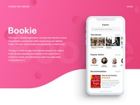 Bookie. IOS app for every book lover