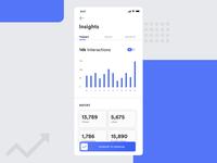 Statistics Designs Concept UI