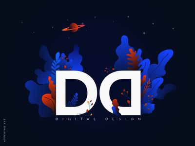 Digital Design illustration