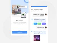 Smart Home UI Concept