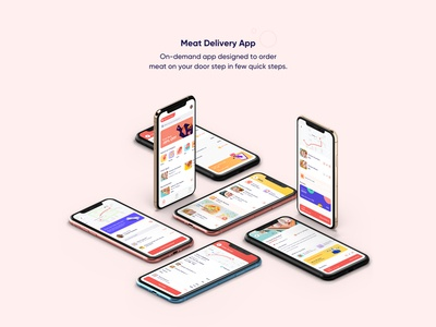 Meat Delivery App UI/UX