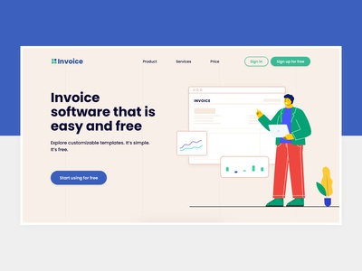 Invoicing Software Hero Banner