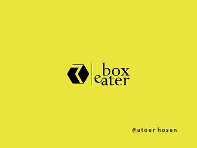 Branding Design   Brand- BOX EATER vector illustration icon design branding design logo design branding logo graphic design 3d