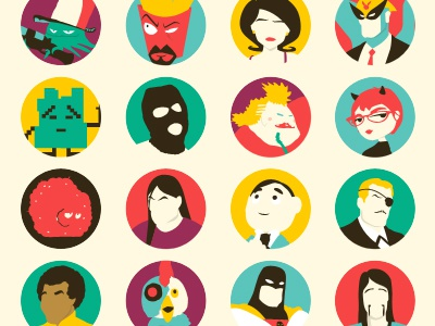 Adult Swim illustrations illustration tv television aqua teen alphabet print poster adult swim