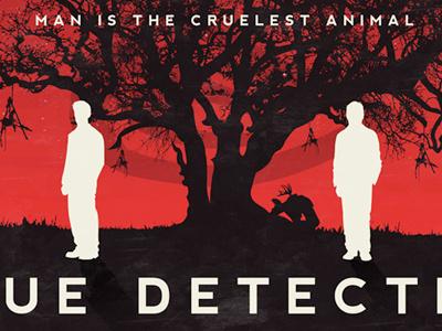 True Detective print poster illustration design graphic true detective yellow king