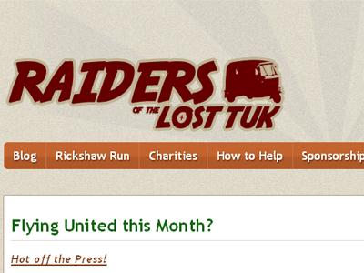 Raiders of the Lost Tuk Site orange red brown sunburst