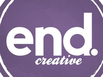 end.creative Logo logo purple