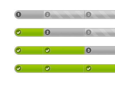 Progress Bar green