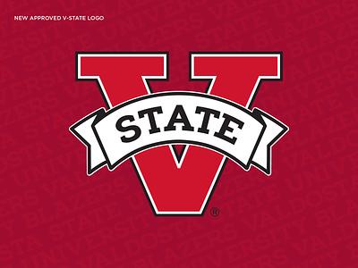 Valdosta State Athletic Mark typography type branding logo athletic