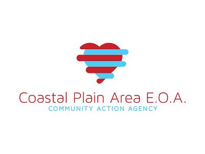 Coastal Plain Area EOA Logo community logo hands heart