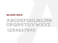 Blazer Bold Font