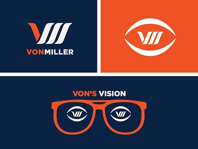 Von Miller design logo