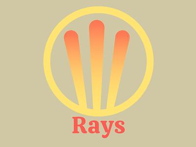 Rays Logo Design icon concept art visual identity logo design business card design logo illustration