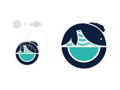 Logo Design Concept restaurant logo sea fish