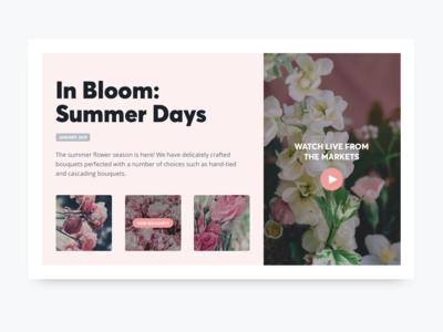 UI Florist Seasonal Card