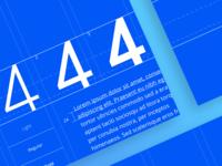 Typography exploration