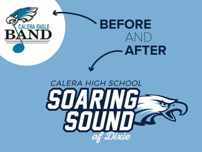 High School Band Logo Redesign
