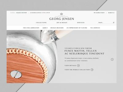 Georg Jensen — Marc Newson