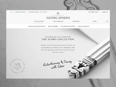 Georg Jensen — Acorn Collection