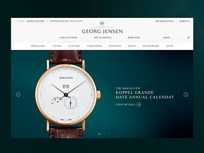 Georg Jensen — Mens Collection campaign gallery jewellery acorn big images danish design georg jensen