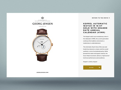Georg Jensen — Gift Of Giving product view product overlay watch save