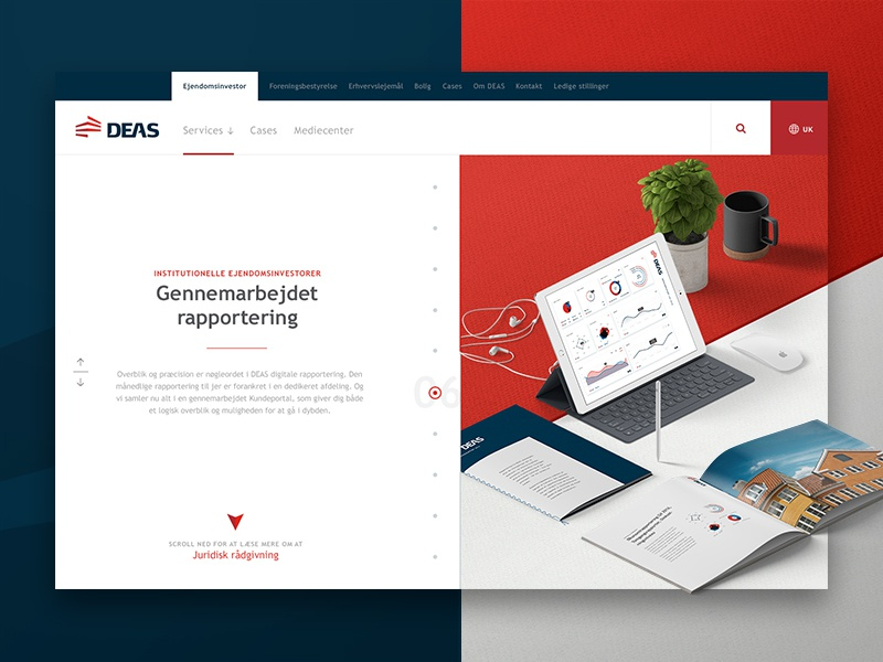DEAS — Value streams split view decks split indicator steps progress corporate perspective