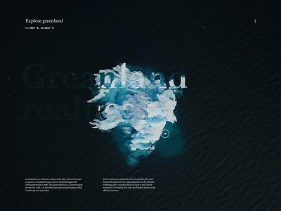 Explorer; Motion Design cards navigation travel clean minimal uidesign video background motion website design typography animation desktop
