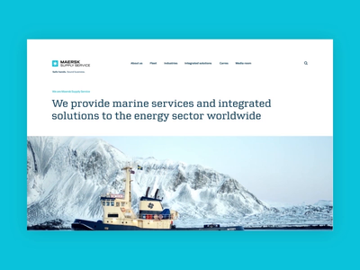 Maersk Supply Services Pitch