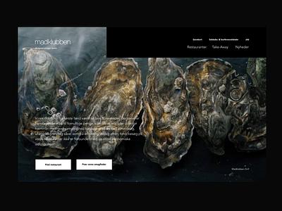 Foodclub button selector quiz fullscreen ui design website desktop animations video cursor displacement