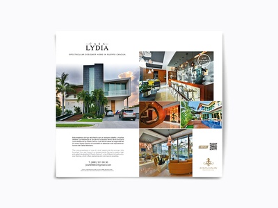 CASA LYDIA - TWO PAGE MAGAZINE DESIGN