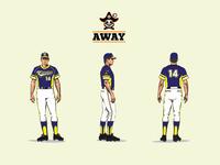 Corsarias - Away Team