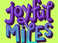 JOYFUL MILES INSPO