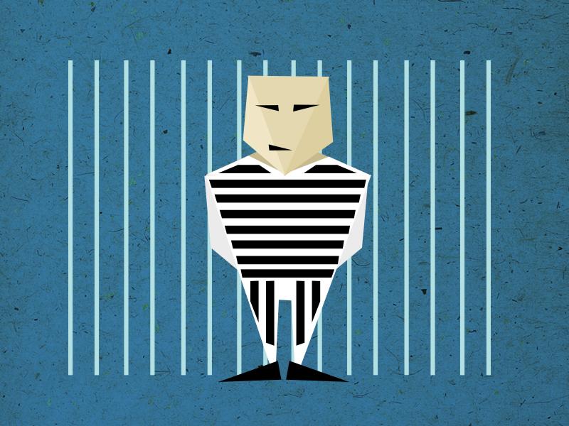 topic: prison triangles opener otvarac disussion evenings poster topics illustration