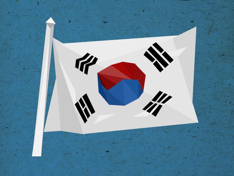 topic: south korea illustration topics poster disussion evenings otvarac opener triangles