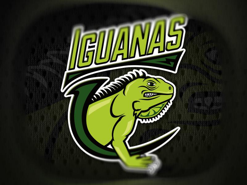 Iguanas sport logo sport logo iguana fraser davidson skillshare