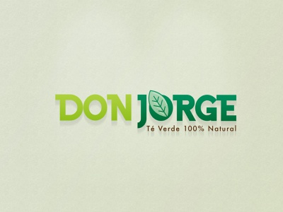 Don Jorge logotype shot vector logotipo logo
