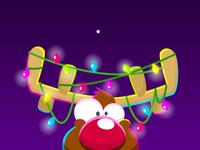 PlayKids Talk Reindeer Sticker