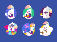 Playkids Talk Happy Easter Stickers Pack