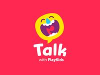 PlayKids Talk logo update