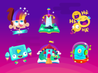 PlayKids Stories Icons